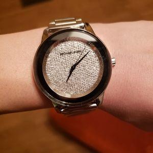 Michael Kors Kinley diamond pave dial men's watch